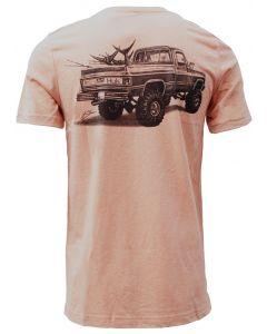 Huk 'Merica T-Shirt Coral