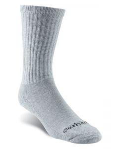 Carhartt 3 Pack Crew Work Sock Grey Socks