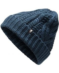 The North Face Women's Cable Minna Beanie Blue Wing Teal