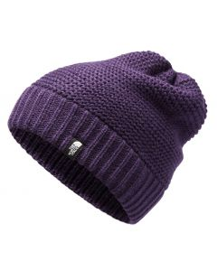 The North Face Women's Purrl Stitch Beanie Galaxy Purple