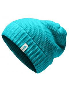 The North Face Women's Purrl Stitch Beanie Kokomo Green