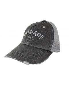 Alabama Girl Women's Redneck Girl Cap Black Grey