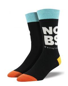 Socksmith Men's No Boring Socks Black
