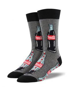 Socksmith Men's Good To The Last Drop Charcoal