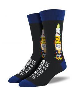 Socksmith Men's Coronavidad Black