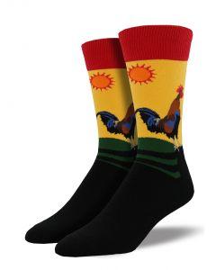 Socksmith Men's Early Riser Morning Gold