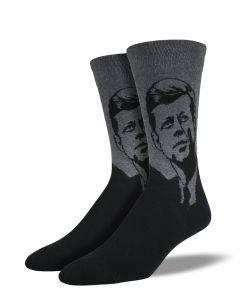 Socksmith Men's JFK Charcoal
