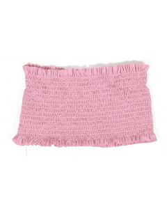 Tres Bien Women's Smocked Bandeau Light Pink