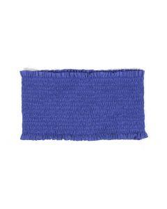 Tres Bien Women's Smocked Bandeau Royal Blue