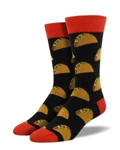 Socksmith Men's Tacos Socks Black