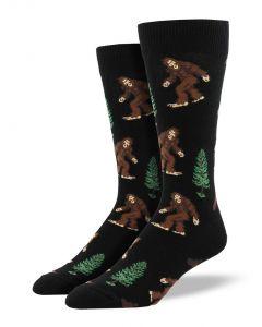 Socksmith Men's Bigfoot Socks Black