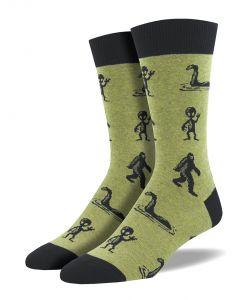 Socksmith Men's I'm a Believer Socks Olive Heather