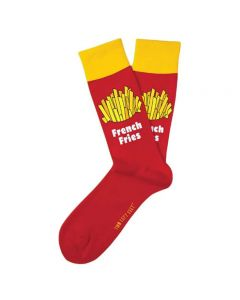 Two Left Feet Men's Super Size Socks Fries