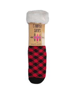 Simply Southern Camper Socks Plaid