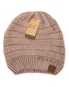 C.C. Exclusives Stonewashed Classic Beanie Mocha