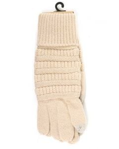 C.C. Exclusives Gloves Beige