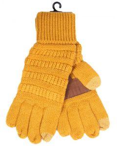 C.C. Exclusives Gloves Mustard