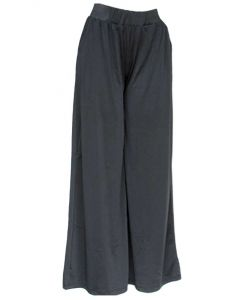 Queens Designs Women's Palazzo Pants Black
