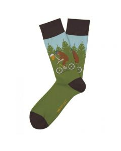 Two Left Feet Women's Drinkin With Sasquatch Socks Sasquatch