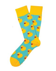 Two Left Feet Women's Sitting Duck Sock Sitting Duck