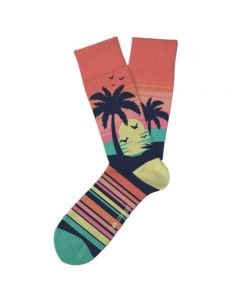 Two Left Feet Women's Caribbean Sunset Socks Sunset