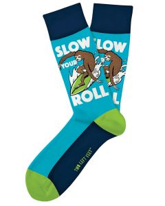 Two Left Feet Men's Slow Your Roll Sock Roll