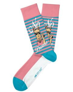 Two Left Feet Men's No Drama Llama Sock Llama