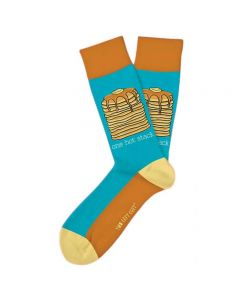 Two Left Feet Men's One Hot Stack Sock One Stack
