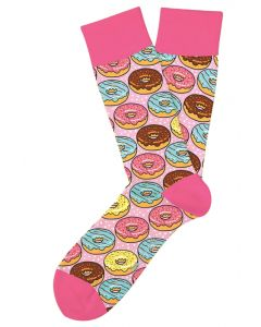 Two Left Feet Men's Go Nuts For Donuts Socks Gonut