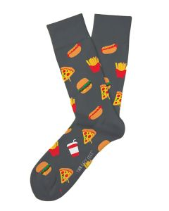 Two Left Feet Men's Drive Thru Junky Socks Drive Thru