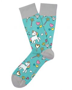 Two Left Feet Women's Unicorn Sock Unicorn
