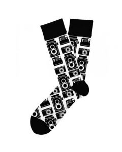 Two Left Feet Men's Snap Shot Sock Snapshot