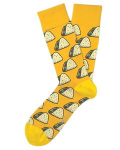 Two Left Feet Men's Taco Tuesday Sock Taco