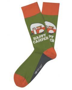 Two Left Feet Women's Happy Camper Sock Camper