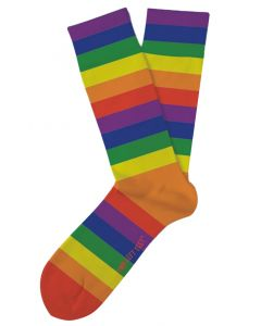 Two Left Feet Women's Color Me Rainbow Socks Rainbow