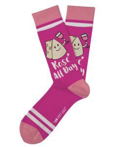 Two Left Feet Men's Rose All Day Sock Rose