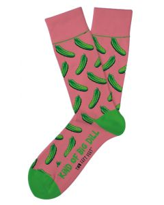 Two Left Feet Men's The Big Dill Sock Big Dill