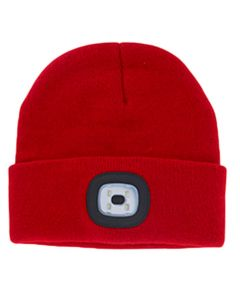 Night Scout LED Beanie Red