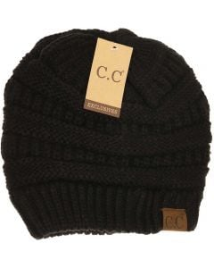 C.C. Exclusives Classic Hat Black