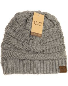 C.C. Exclusives Classic Hat Light Grey