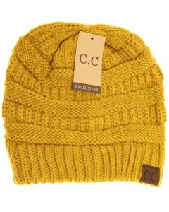 C.C. Exclusives Classic Hat Mustard