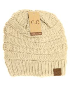 C.C. Exclusives Classic Hat Beige