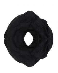 C.C. Exclusives Infinity Scarf Black