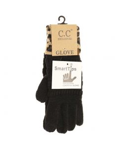 C.C. Exclusives Animal Gloves Black