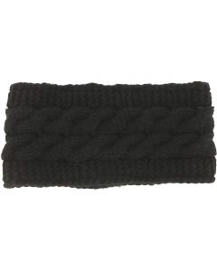 Britt's Knits Women's Head Warmer Black