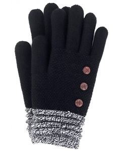 Britt's Knits Women's Gloves Black