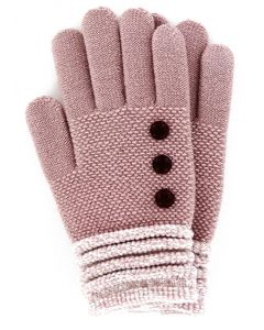 Britt's Knits Women's Gloves Blush
