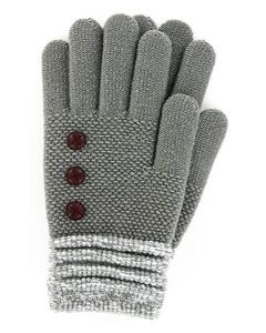 Britt's Knits Women's Gloves Grey