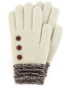 Britt's Knits Women's Gloves Oatmeal