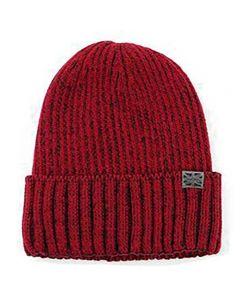 Britt's Knits Men's Hat Red